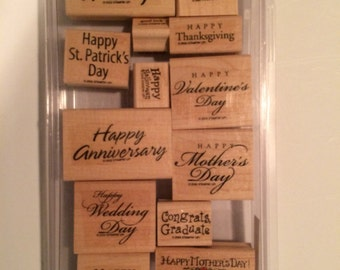 Special occasion stamp set from Stampin' Up!