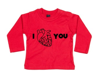 Anatomy shirt, anatomical heart shirt, anatomically correct heart, i heart you shirt, valentines shirt, baby love shirt, valentines day tee