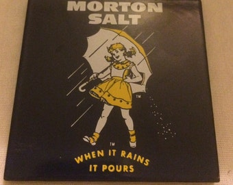 Morton Salt Refrigerator Magnet