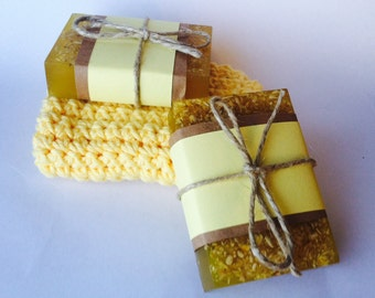 Vanilla, Oat and Almond Soap