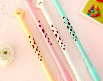 Giraffe gel pen, Cute pen