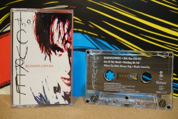 Bloodflowers by The Cure Vintage Cassette Tape