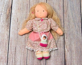 Waldorf Doll with Baby