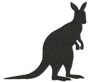 Iron On Patch Embroidered Kangaroo Appliques From Szwgc On Etsy Studio