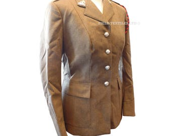 Uniform Woman's No.2 Adjutant Generals Dress Army Tunic - Size 162/92/68 - Vintage - E262