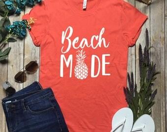 Beach Mode Shirt - Vaca Mode Shirt - Vaca Mode Top - Vacation Mode Top - Cruise Shirt - Vacay Top - Cruise Top - Spring Break Shirt - Beach