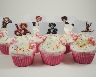 Cats Broadway musical cupcake toppers, Cats play, Cats party theme, birthday party cupcake topper, Broadway musical