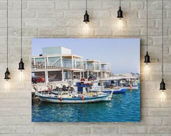 Ocean printable art, Art print, Printable, sailboat art, beach printable art, tropical wall art, sailboat wall print, nautical boat print