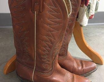 Vintage Acme leather boots size 6