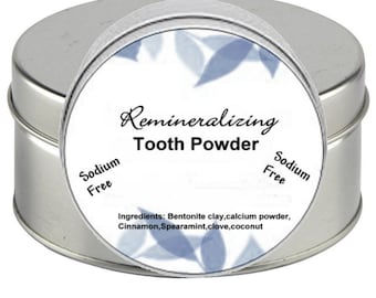 Organic Tooth Powder