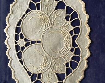 Vintage style FRUIT carving centerpiece CENTERPIECE
