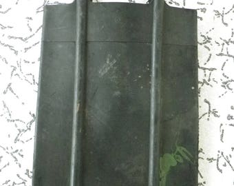 scarce / vintage / ussr / black rubber bag for water
