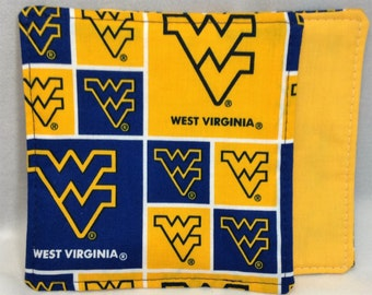 West Virginia Fabric Coasters   Set of 6