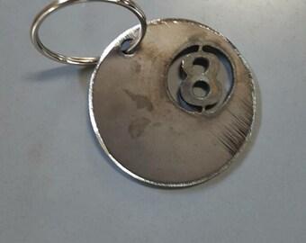 Novelty 8 Ball Keychain