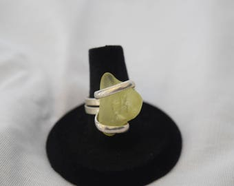 Yellow Gemstone Ring