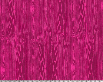 Free Spirit - Wood Grain - Joel Dewberry True Colors (PWTC008 - Fuschia) - Blenders