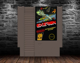 Exerion - Unreleased - Classic shooter now available - NES - Sky Fox - Exerizer