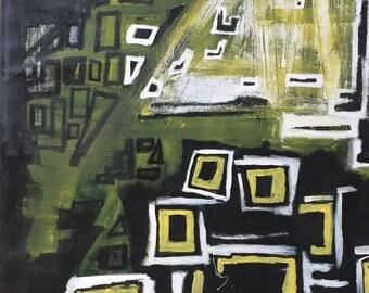 Abstract Wall Art, Heavy Texture Abstract Painting, Original Art, Abstract Canvas Art, Canvas Painting, Living Room Wall Art, Oil Painting