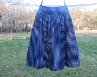 Beatrice skirt with polka dots