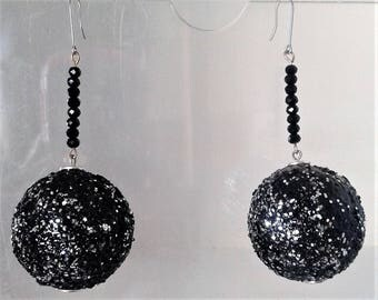 """Compliment your Style with these Sparkling 3 """" Drop Earrings, You will stand out in a crowd"""