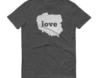 Poland, Polish Clothing, Poland Shirt, Poland T Shirt, Poland TShirt, Poland Map, Poland Gifts, Made in Poland, Poland Love Shirt, Polish