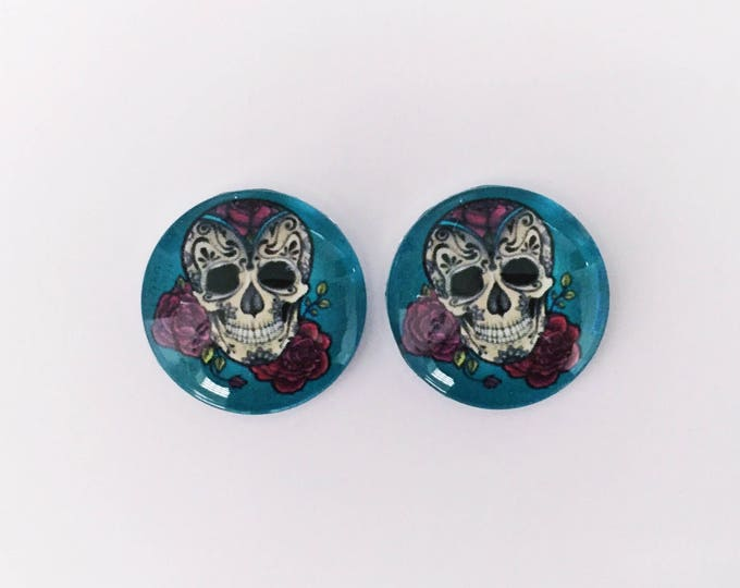 The 'Millie' Glass Earring Studs