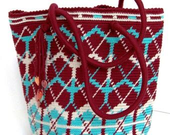 Crochet handbag bag - Original handbag bag