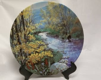 Collectors Plate Autumn Splendor in the Smoky Mountains