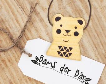 keychains - bams the bear