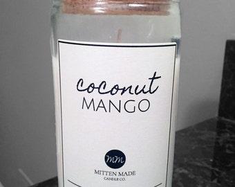 Coco Mango 16oz Soy Candle