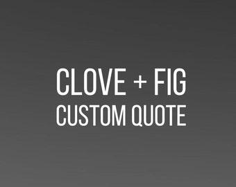 Custom Hand Lettered 8 x 10