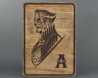 Ra's al Ghul Day of the Dead Card