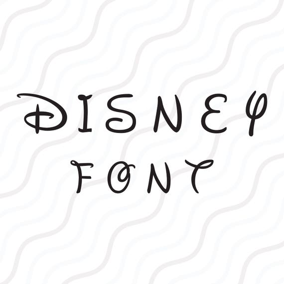 disney letter font walt disney font svg disney alphabet svg disney monogram 28921