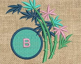 Machine Embroidery Monogram Design , 3 sizes, embroidery monogram, paadarclub
