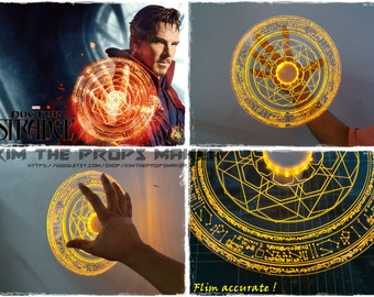 Film accurate Doctor strange Light up magic spell disc