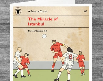 Liverpool FC | Greetings Cards | The Miracle of Istanbul