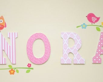 Large Customized Letters for Children's Room