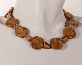 Stunning Jasper LAINE HOADLEY necklace