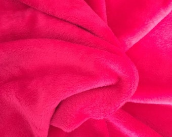 Alpenfleece uni, pink 7990