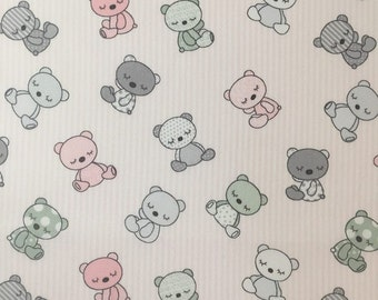 Cotton, fabric, baby article 7424