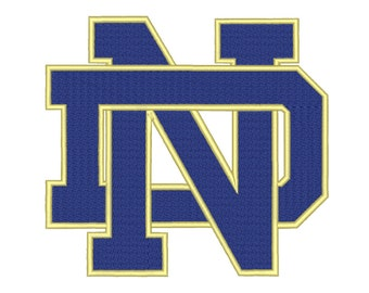 9 Size Notre Dame Fighting Irish Embroidery Design College Football Embroidery Designs Instant Download Machine Embroidery Designs PES