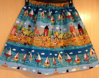 Pretty vintage style girls skirt