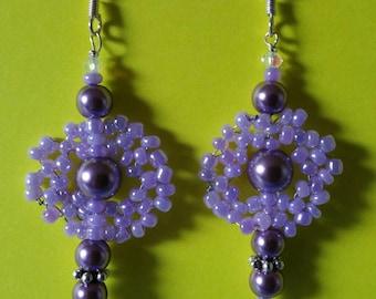 Peaceful Lavender Earrings