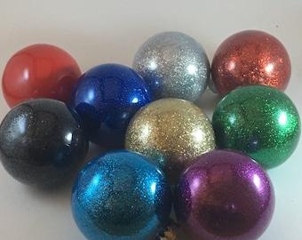 Custom Glitter or Painted Ornaments