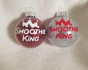 Smoothie King Ornament