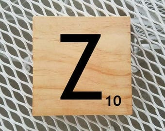 Scrabble | Scrabble Letters | Scrabble Custom Letters | Choose Your Own Letter | Scrabble Sign For You | Gift You'll Love | Home Decor | Z10