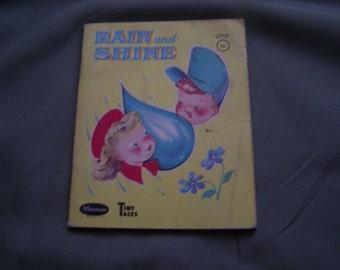 Rain and Shine Tiny Tales Whitman book