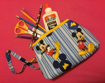 Classic Mickey makeup/clutch bag