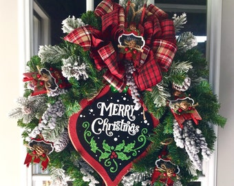Have Yourself a Merry Little Christmas Wreath
