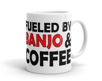 Banjo Player Mug - Fueled By Banjo And Coffee
